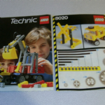 8020 Lego Technic  Instructions and 1984 catalogue technic